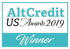 AltCredit US Awards Logo - Winner