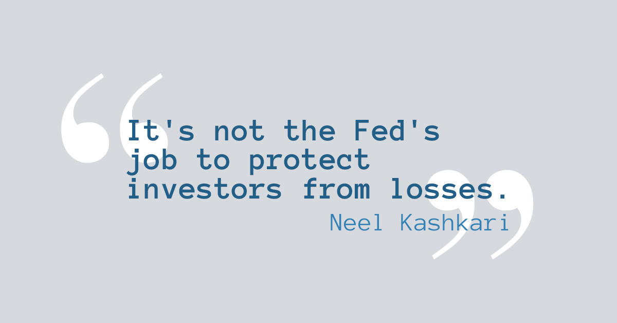 Quote by Neel Kashkari